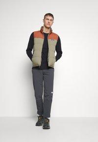 The North Face - MEN'S SPEEDLIGHT PANT - Outdoor trousers - asphalt grey/white - 1