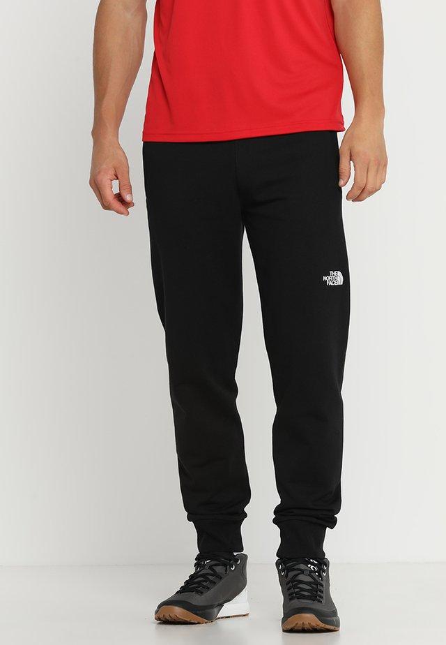 LIGHT PANT  URBAN - Spodnie treningowe - black/white