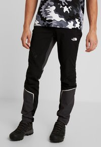 The North Face - IMPENDOR WINTER PANT - Broek - black/weathered black - 0