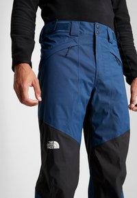 The North Face - CHAVANNE PANT - Zimní kalhoty - blue wing teal/black - 5