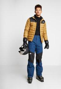 The North Face - CHAVANNE PANT - Zimní kalhoty - blue wing teal/black - 1