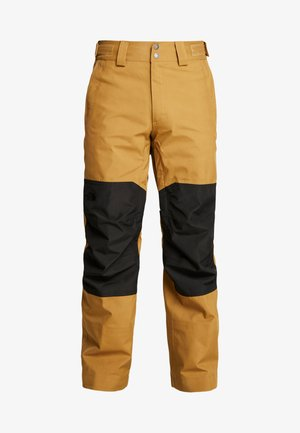 UNI TRIED AND TRUE PANT - Täckbyxor - british khaki/black