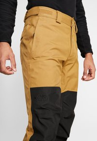 The North Face - UNI TRIED AND TRUE PANT - Zimní kalhoty - british khaki/black - 4