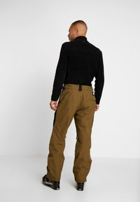 The North Face - SLASHBACK CARGO PANT - Snow pants - military olive/black - 2