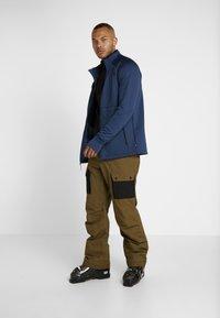The North Face - SLASHBACK CARGO PANT - Snow pants - military olive/black - 1