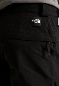 The North Face - SLASHBACK CARGO PANT - Skibroek - black - 6