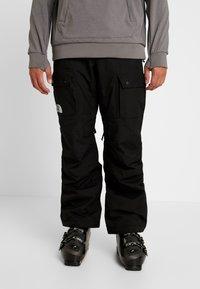 The North Face - SLASHBACK CARGO PANT - Skibroek - black - 0