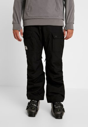 SLASHBACK CARGO PANT - Snow pants - black