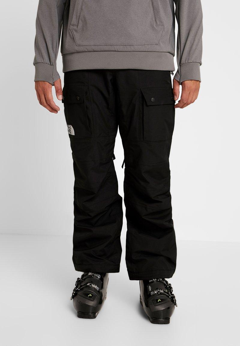 The North Face - SLASHBACK CARGO PANT - Skibroek - black
