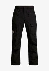 The North Face - SLASHBACK CARGO PANT - Skibroek - black - 5