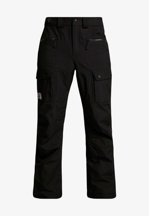 SLASHBACK CARGO PANT - Täckbyxor - black
