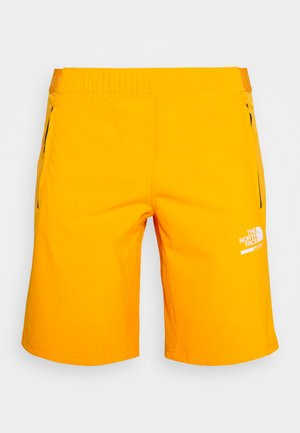 MENS GLACIER SHORT - Szorty trekkingowe - flame orange