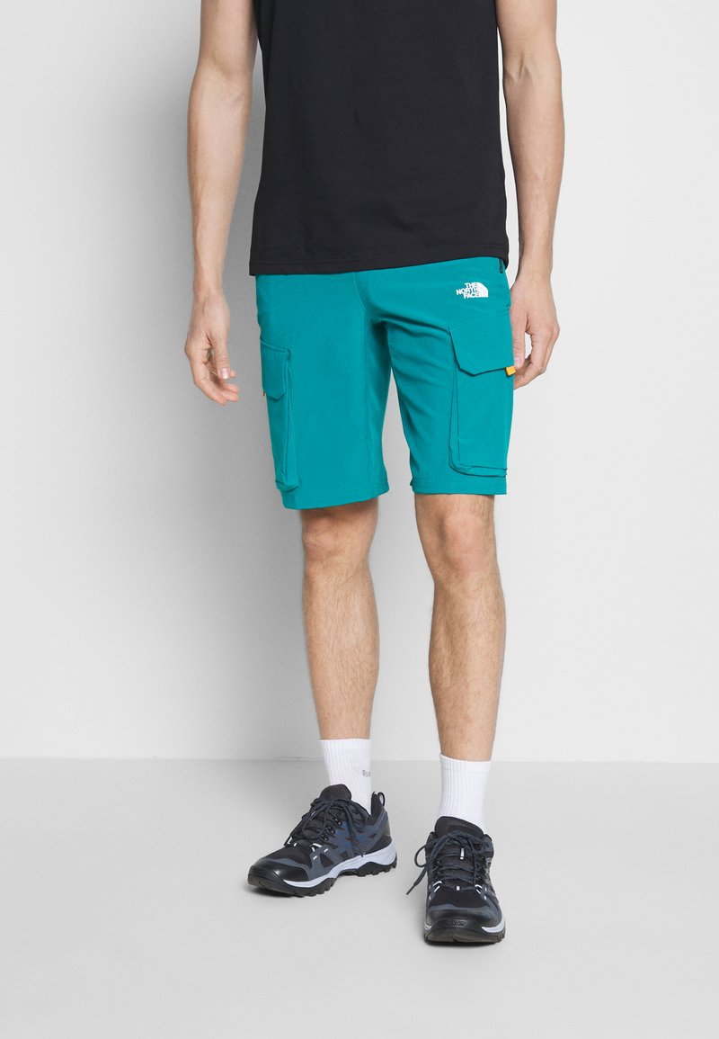 The North Face - MEN'S VARUNA CARGO SHORT - Outdoor shorts - fanfare green