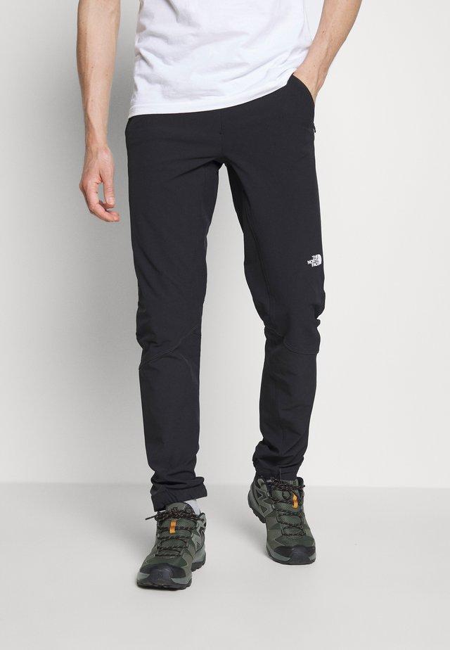 MEN'S IMPENDOR TREK PANT - Friluftsbukser - black
