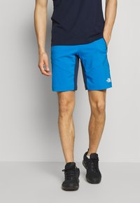 The North Face - MENS IMPENDOR ALPINE SHORT - Friluftsshorts - clear lake blue/blue wing teal - 0