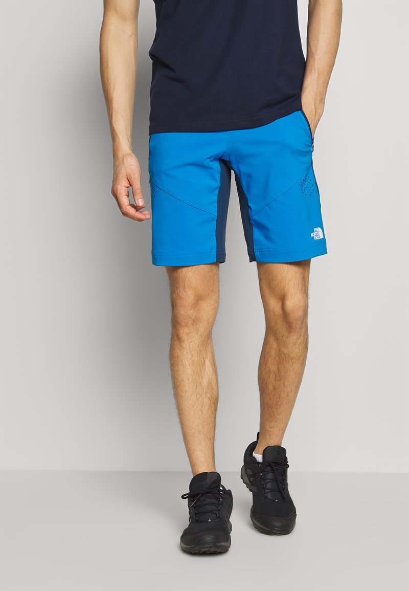 The North Face - MENS IMPENDOR ALPINE SHORT - Friluftsshorts - clear lake blue/blue wing teal