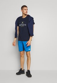 The North Face - MENS IMPENDOR ALPINE SHORT - Friluftsshorts - clear lake blue/blue wing teal - 1