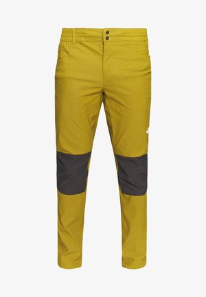 MEN'S CLIMB PANT - Kangashousut - fir green/black