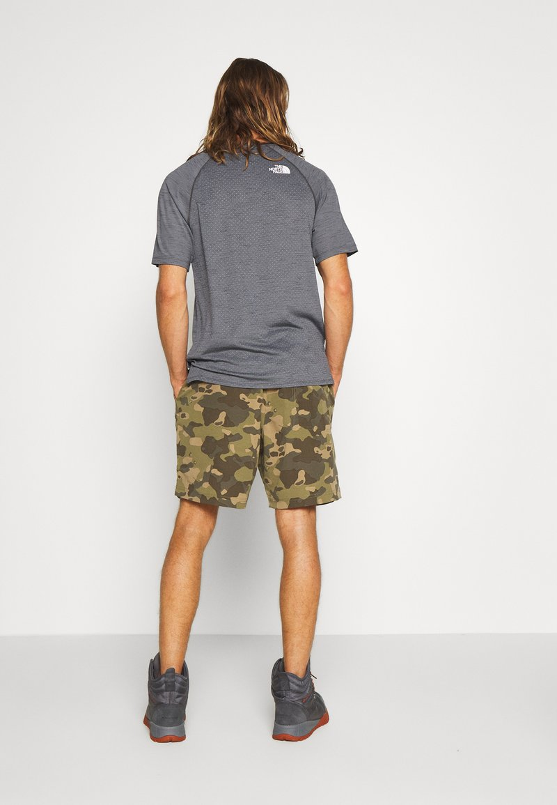 The North Face - MEN'S CLASS PULL ON TRUNK - Shorts outdoor - burnt olive green/ponderosa