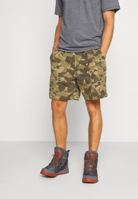 The North Face - MEN'S CLASS PULL ON TRUNK - Shorts outdoor - burnt olive green/ponderosa - 2