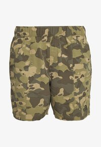 The North Face - MEN'S CLASS PULL ON TRUNK - Shorts outdoor - burnt olive green/ponderosa - 5