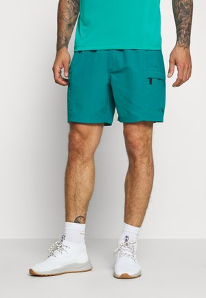 MENS CLASS BELTED TRUNK - Szorty trekkingowe - fanfare green