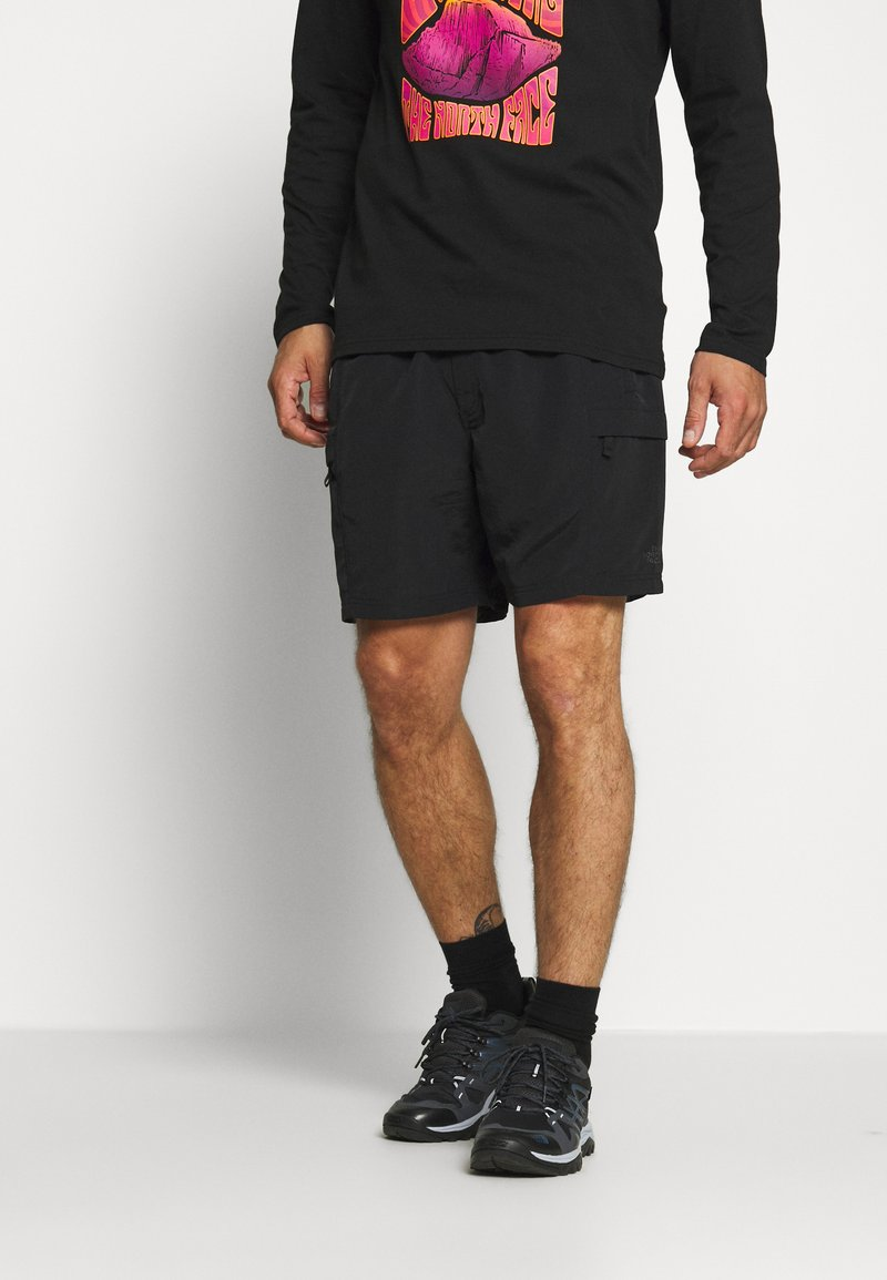 The North Face - MENS CLASS BELTED TRUNK - Friluftsshorts - black
