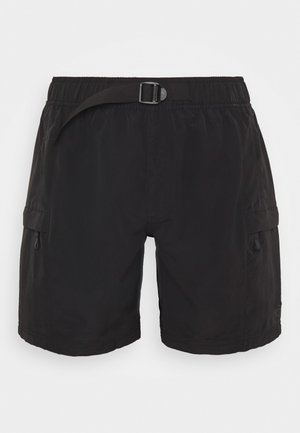 MENS CLASS BELTED TRUNK - Shorts outdoor - black