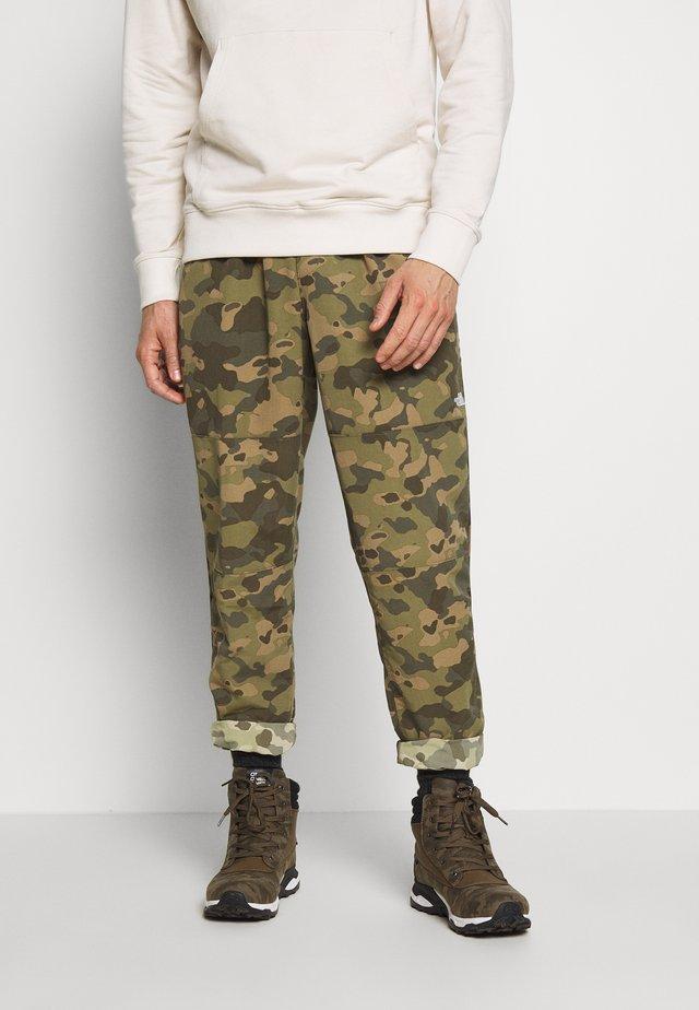 CLASS PANT - Spodnie materiałowe - burnt olive