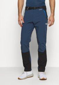 The North Face - MEN'S DIABLO II PANT - Friluftsbukser - blue wing teal/black - 0