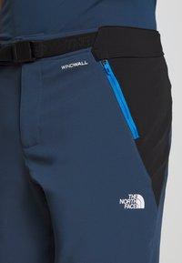 The North Face - MEN'S DIABLO II PANT - Friluftsbukser - blue wing teal/black - 3