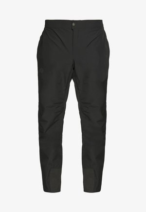 M DRYZZLE FUTURELIGHT FULL ZIP PANT - Pantalones montañeros largos - black