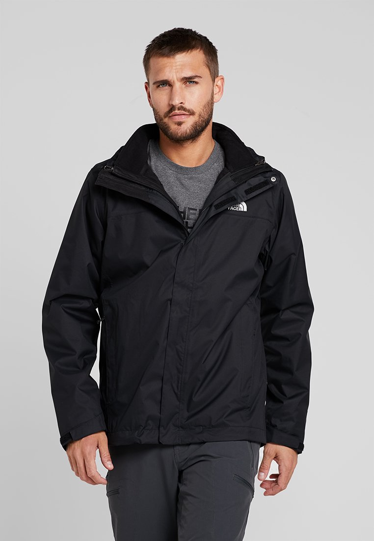 The North Face - EVOLVE - Hardshell jacket - black