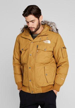 GOTHAM - Down jacket - british khaki