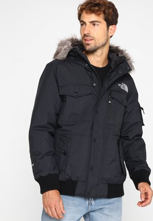 GOTHAM - Gewatteerde jas - black/light grey