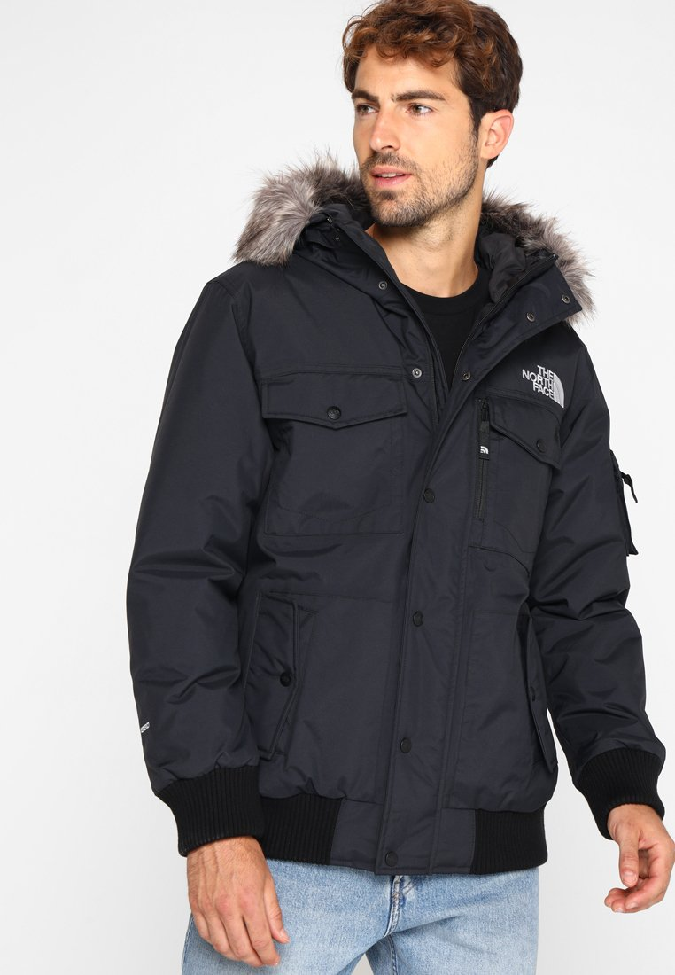 The North Face - GOTHAM - Gewatteerde jas - black/light grey