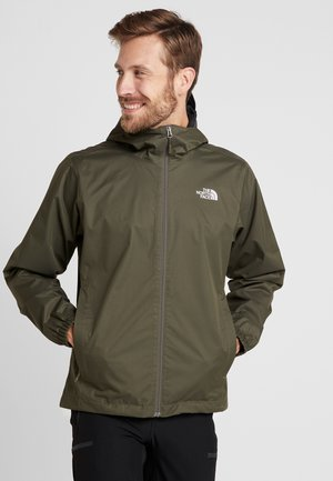 MENS QUEST JACKET - Hardshell jacket - new taupe/green heather