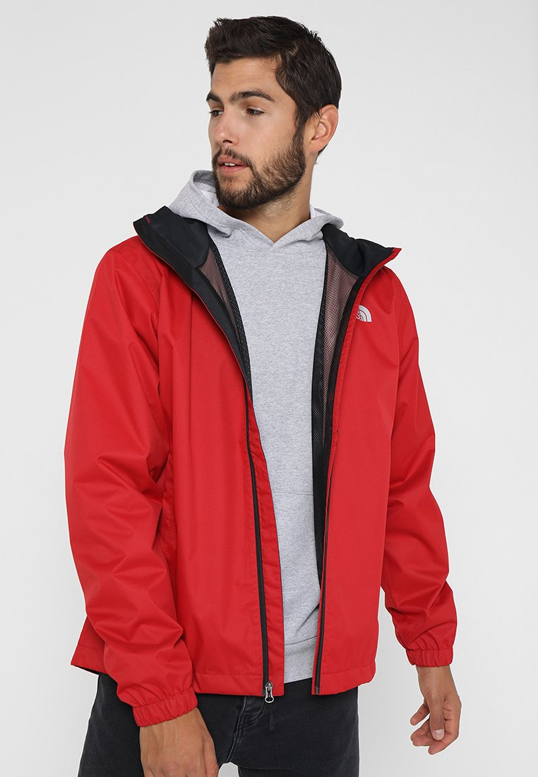 The North Face - MENS QUEST JACKET - Blouson - rage red/black