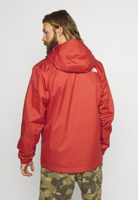 The North Face - MENS QUEST JACKET - Blouson - sunbaked red dark heather - 2