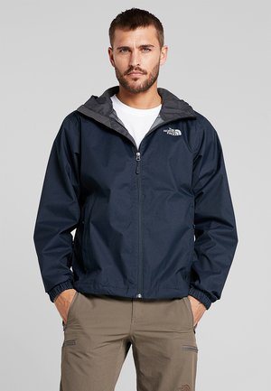 MENS QUEST JACKET - Hardshellová bunda - blue