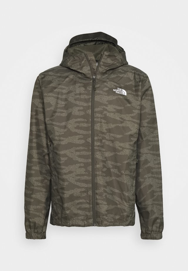 MENS QUEST JACKET - Chaqueta outdoor - new taupe green