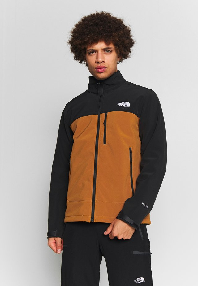 MENS APEX BIONIC JACKET - Kurtka Softshell - caramel cafe