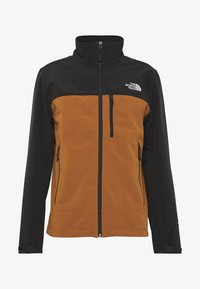 The North Face - MENS APEX BIONIC JACKET - Soft shell jacket - caramel cafe - 3