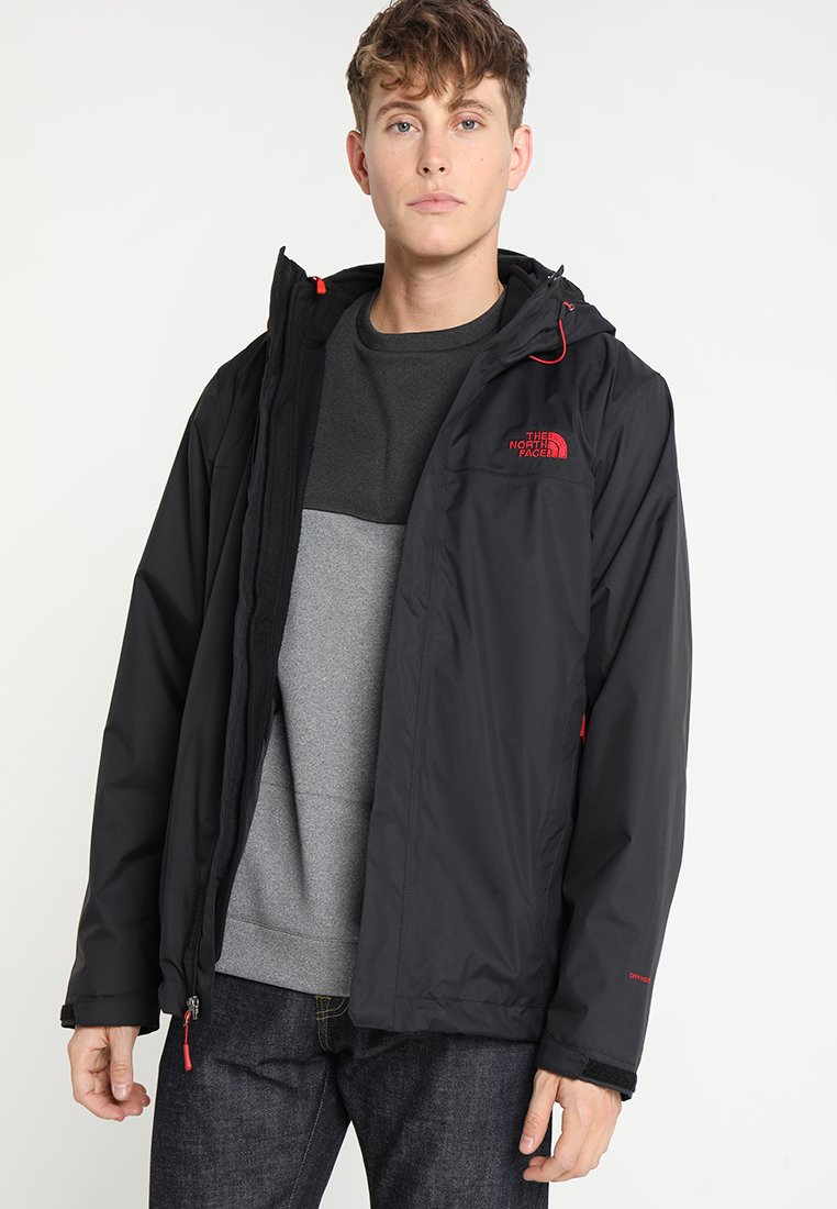 The North Face - CORDILLERA TRICLIMATE JACKET 2-IN-1 - Outdoorjas - black/rage red