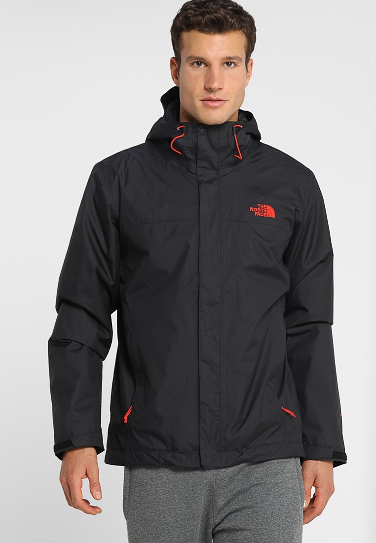 The North Face - CORDILLERA TRICLIMATE JACKET 2-IN-1 - Giacca outdoor - black/fiery red