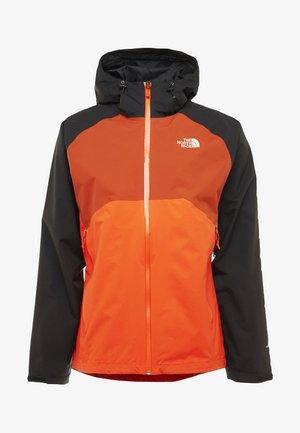 STRATOS - Hardshell jacket - orange/black/picante red