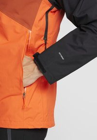 The North Face - MENS STRATOS JACKET - Kurtka hardshell - orange/black/picante red - 4