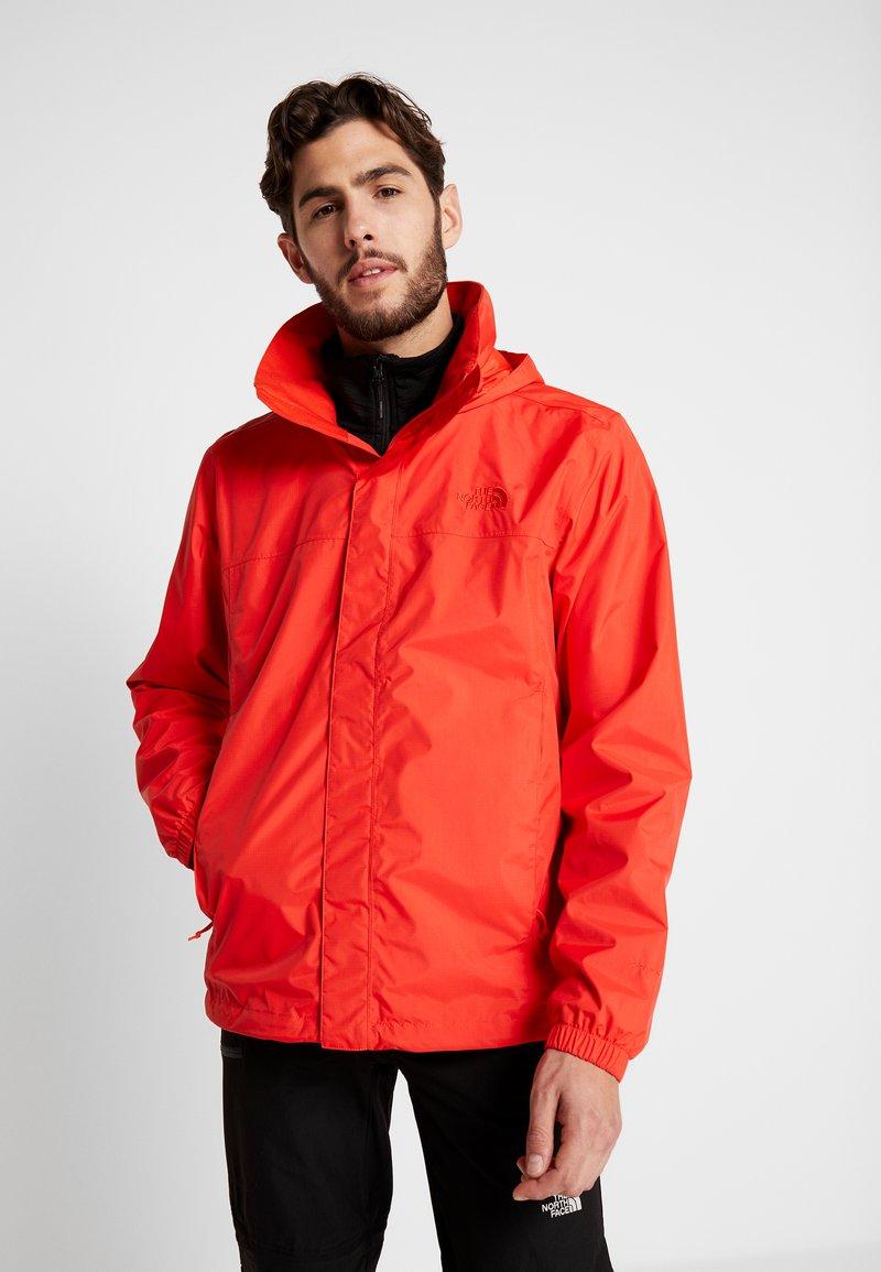 The North Face - RESOLVE JACKET - Outdoorová bunda - fiery red