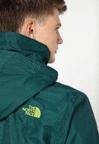 The North Face - RESOLVE JACKET - Outdoorová bunda - dark green - 5