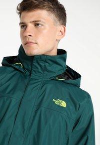 The North Face - RESOLVE JACKET - Outdoorová bunda - dark green - 4